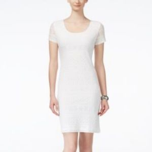 Ronnie Nicole - Day Lace Dress Ivory - Size 10